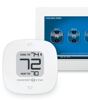 inside home thermostat