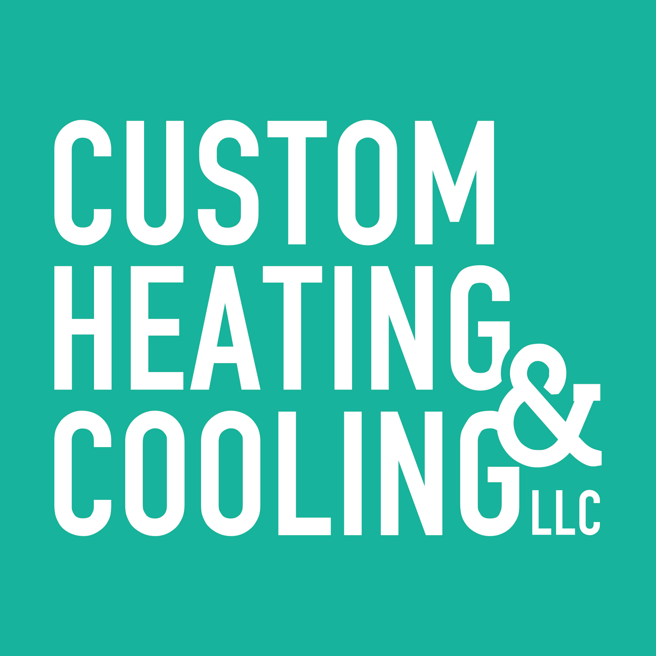 Heating&Cooling Logo Text Only White (2)