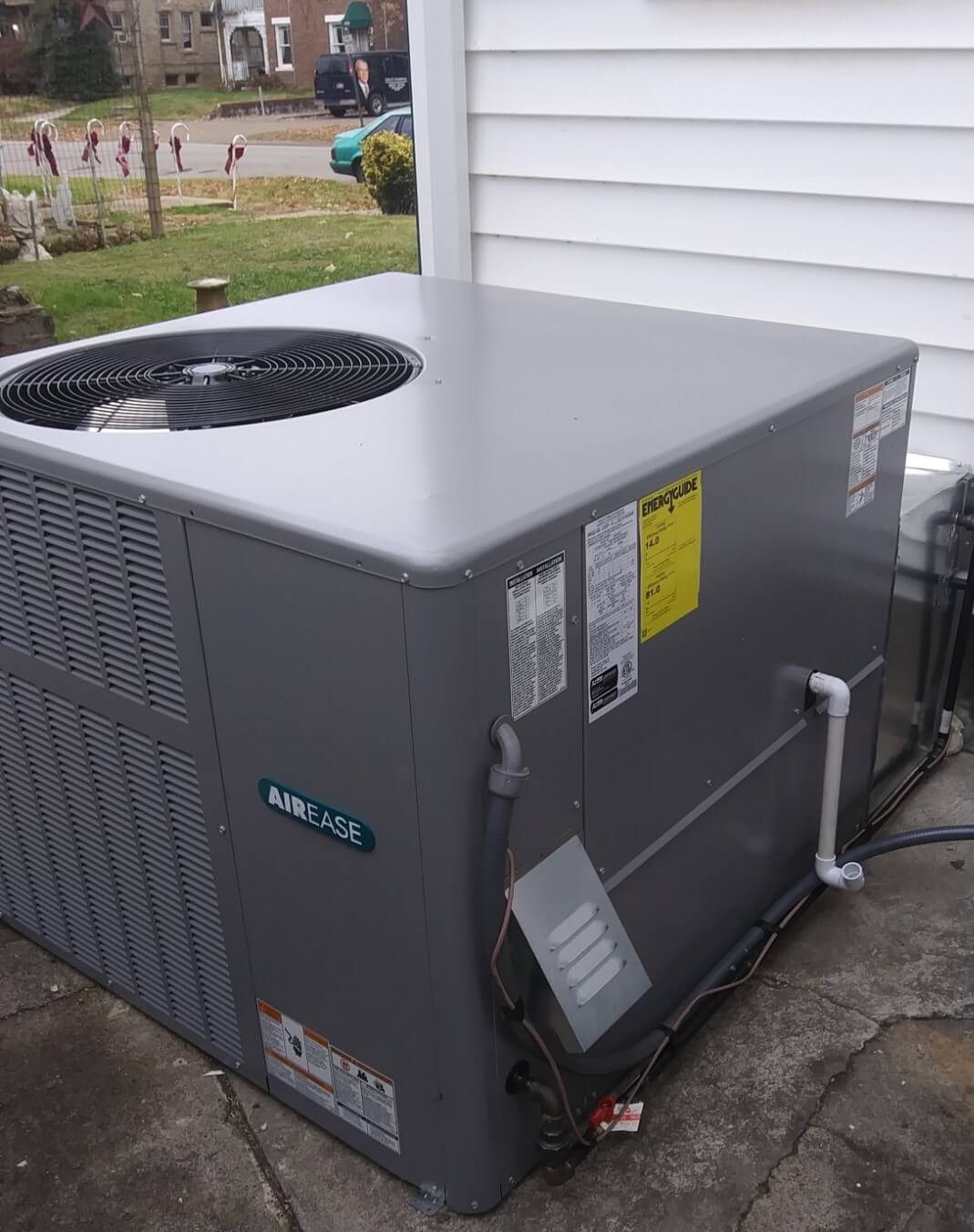 AirEase, A/C, Heater, Air Conditioner, Home Heating, Huntington